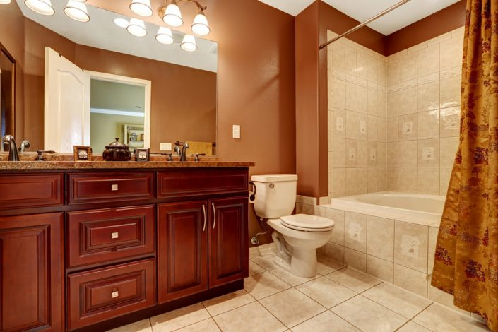 Tile Flooring & Wood Cabinets in Wisconsin