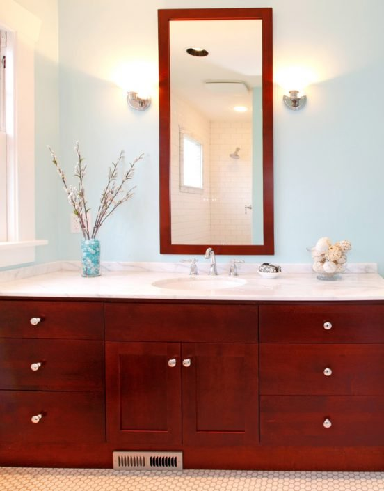 Wood Bathroom Cabinets in Madison & Waukesha, WI