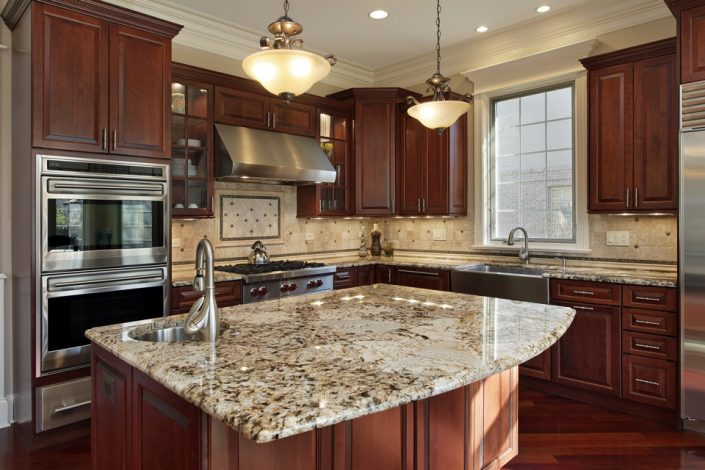 Wood Cabinets & Granite Countertops in Wisconsin