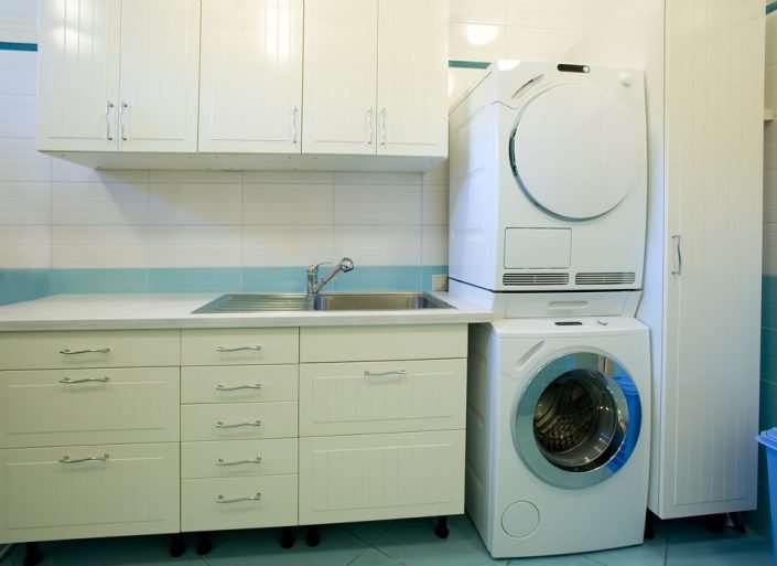 White Laundry Room in Waukesha & Madison, WI