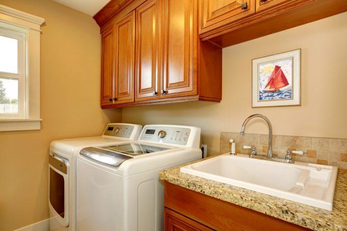 Laundry Room Granite Countertops in Wisconsin