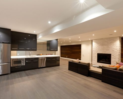 Bewitching Basements - Basement Kitchen and Flooring