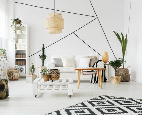 Geometric Living Room Design