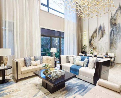 Sensibly Chic Living Room Design