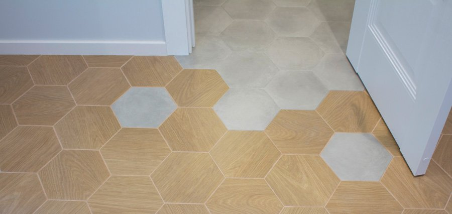 Transition Tile Flooring in Madison, WI