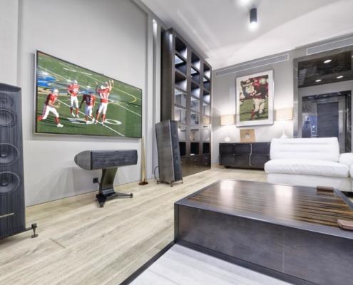 Big-League Basement Design in Madison, WI