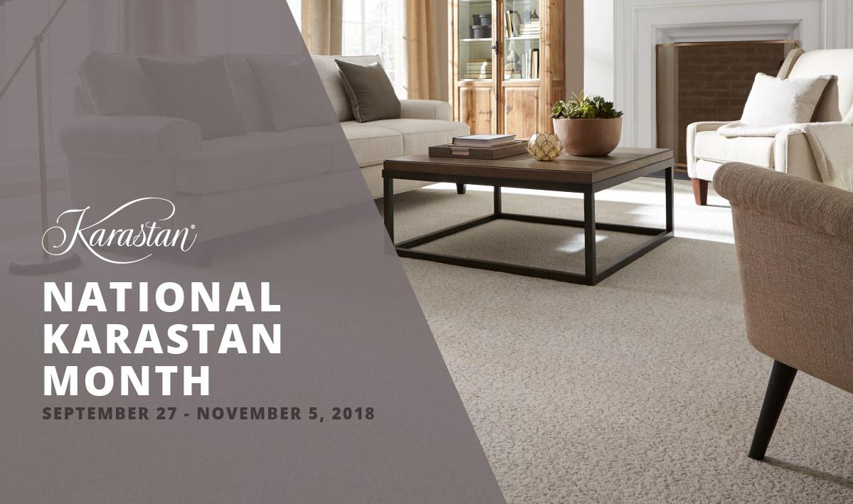 National Karastan Month, Fall 2018