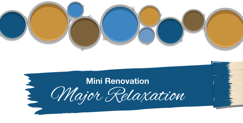Mini Renovation, Major Relaxation - Nonn's - Mobile