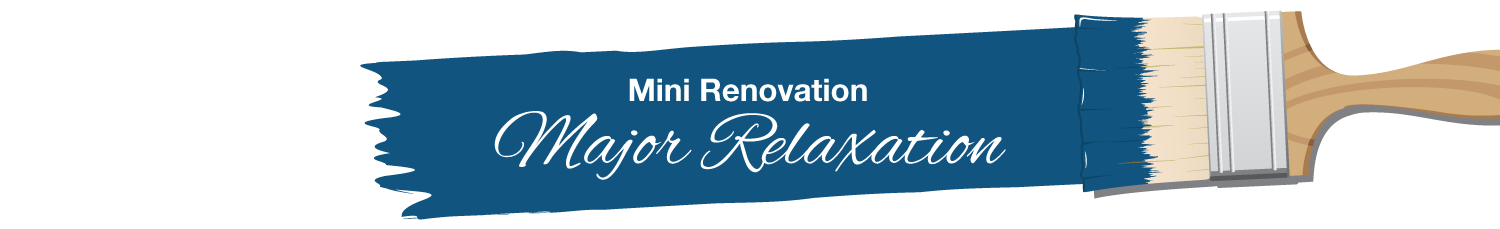 Mini Renovation, Major Relaxation - Nonn's