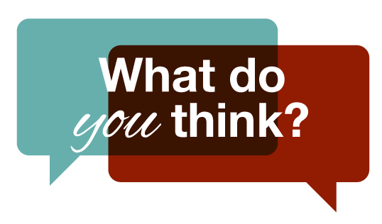 What do you think? - Design Debate