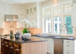 White Kitchen Design in Wisconsin