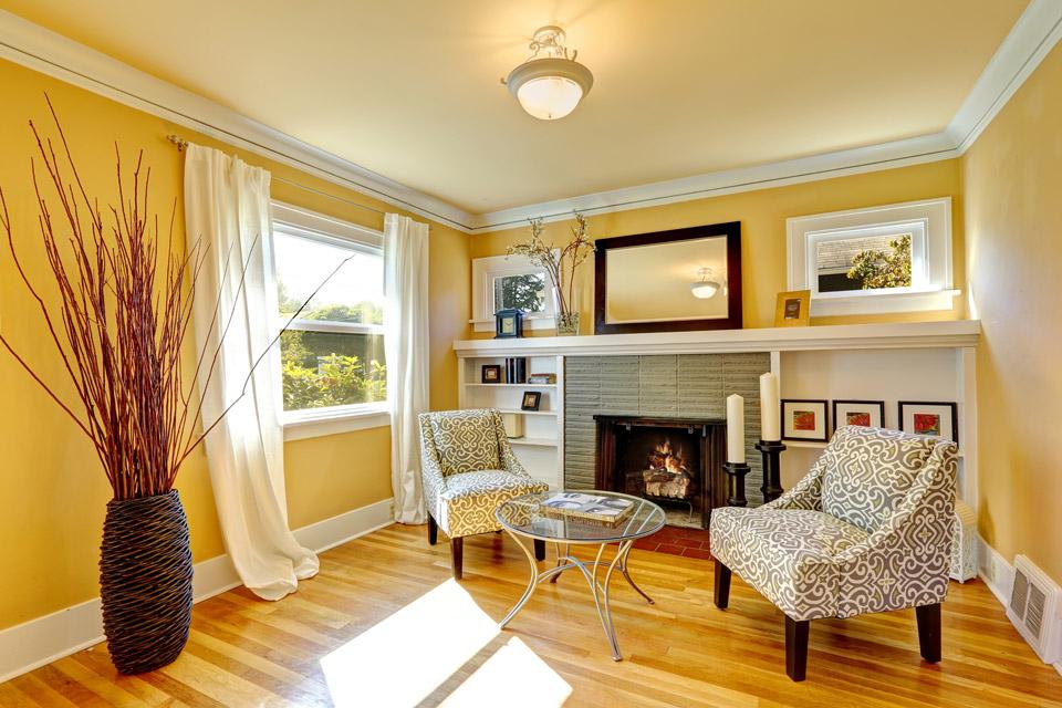 Living Room Wood Flooring in Madison & Waukesha, WI