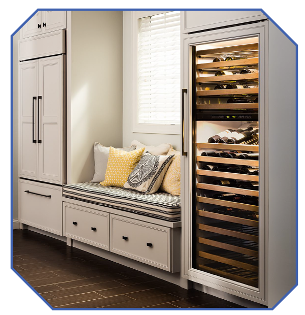 Nonn's Kitchen Design Wine Storage