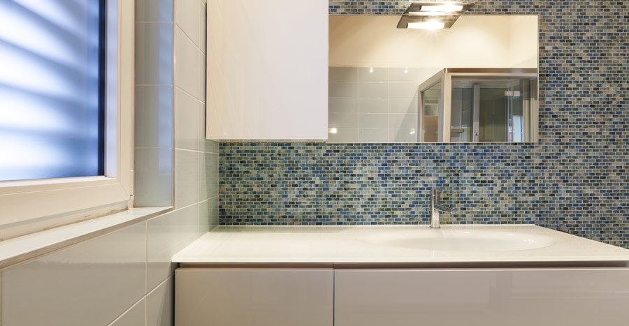 Custom Tile Backsplash at Nonn's