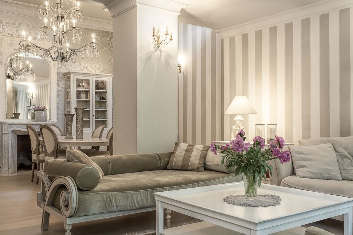Divine French Design - Living Room