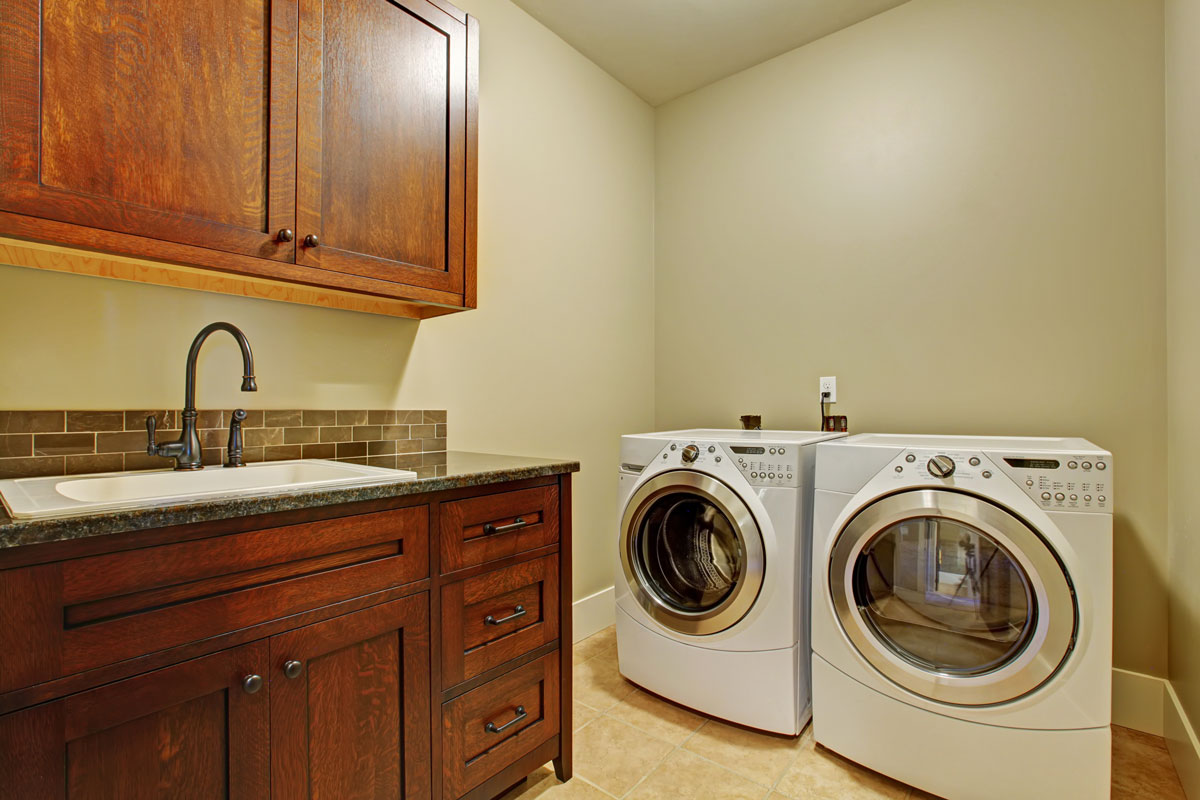 Laundry Room Heated Tile