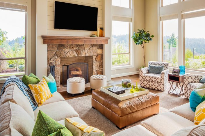 Invigorating Interiors - Living Room