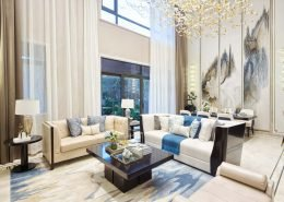 Sensibly Chic Living Room Design