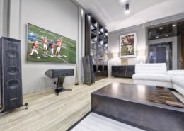 Big-League Basement Design in Madison, WI