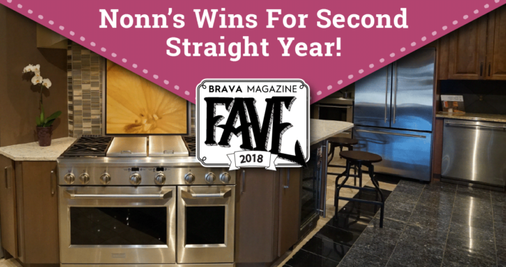 Nonn's Voted BRAVA Fave - 2018