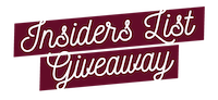 The King and I: Insiders List Giveaway