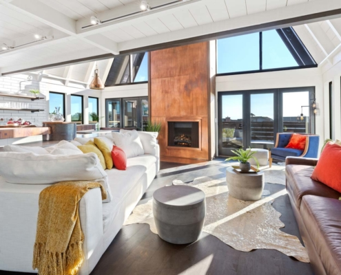 Totally Coastal Living Room