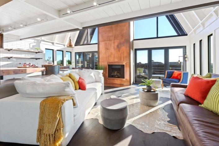 Totally Coastal Living Room
