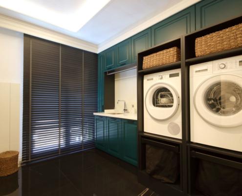Hardworking Homes Laundry Room