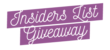 Insiders List Giveaway - The Color Purple