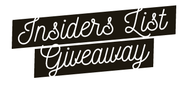 Insiders List Giveaway - The Lion King