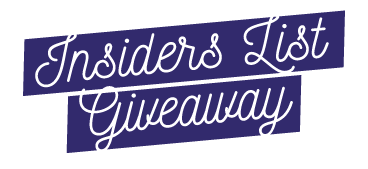 Insiders List Giveaway - A Wrinkle In Time