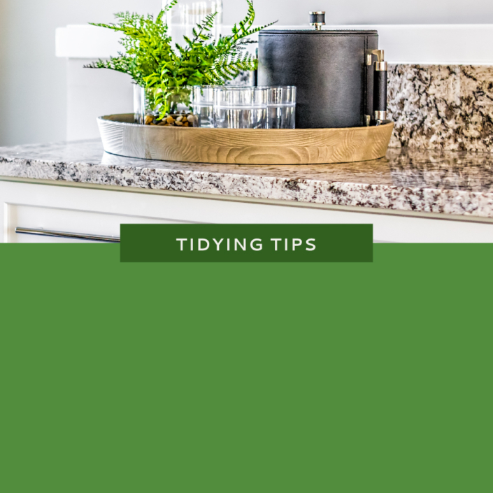Tidy Countertops - Featured Photo