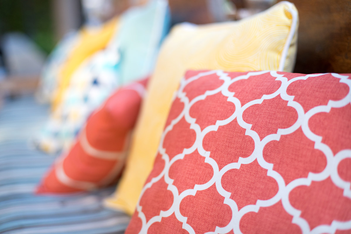 Simple 3 Step Picnic Pillows