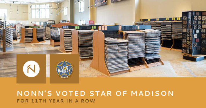 Nonn's Voted Star of Madison for 11th Year