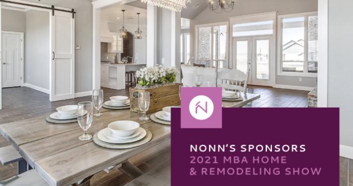 Nonn's Sponsors 2021 MBA Home Building & Remodeling Show
