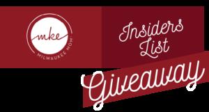 Milwaukee Moms Insiders List Giveaway