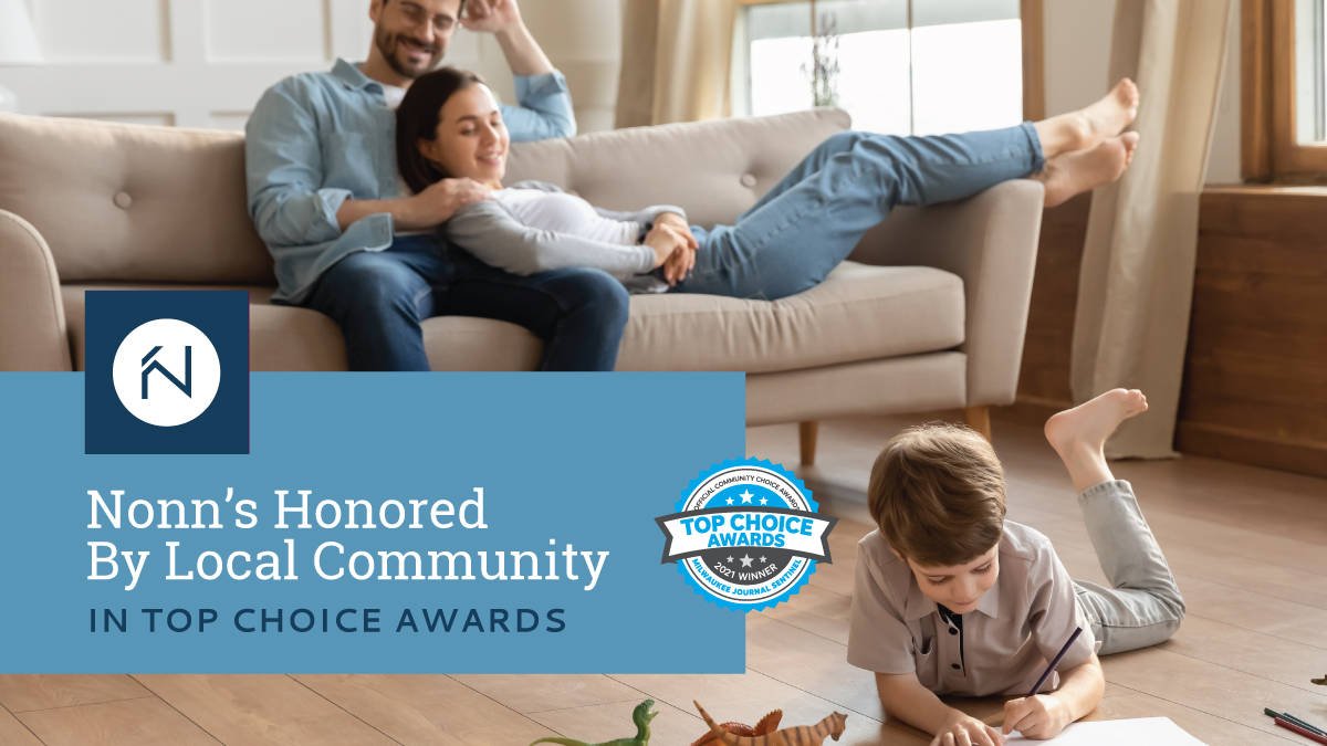 NONN'S HONORED BY LOCAL COMMUNITY IN TOP CHOICE AWARDS